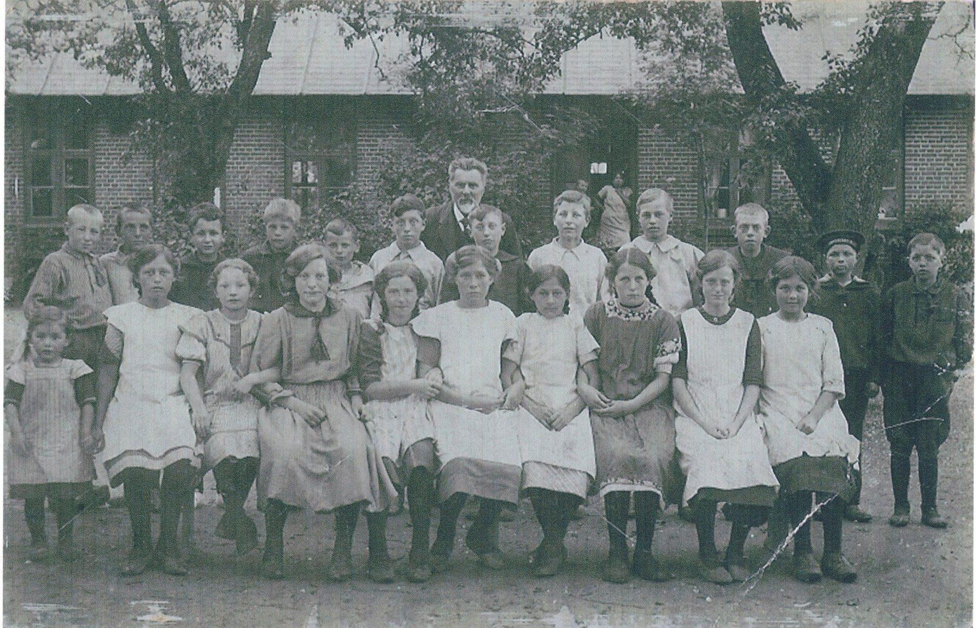 Ajstrup skole 1910