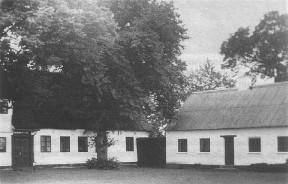 Beder Præstegård før branden i 1944