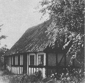 Samshuset, brændt i 1969.