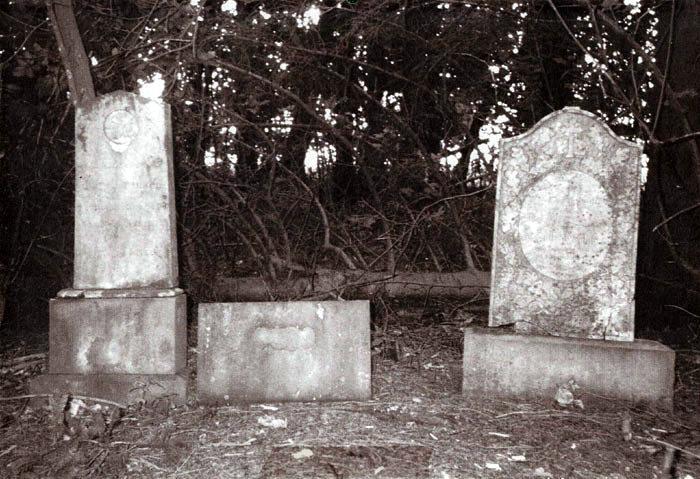 """I Fløjstrup Skov med udsigt ned mod gården """"Bispelund"""" ligger et lille skovstykke på 3 hektar. Her er der placeret to gravsten. Den ene er et minde over ejer af Bispelund, Søren Nielsen, der døde i 1881 og hans hustru, Lisbeth Nielsen, død 1879. Den anden sten er et minde over Søren Nielsens barnebarn, Jens Sørensen, der døde 17 år gammel i 1903. Stenene blev flyttet fra Beder kirkegård til skoven i 1955 af brødrene Niels og Jacob Sørensen, der ejede Bispelund på det tidspunkt."""